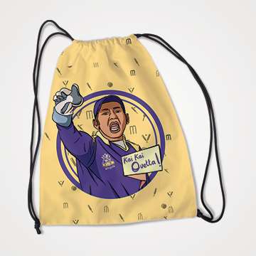 Sarfaraz Ahmed - Quetta Gladiators - PSL - Drawstring bag