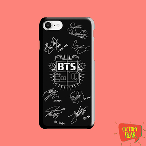 Bts Printed Cell Cover - Cell Cover