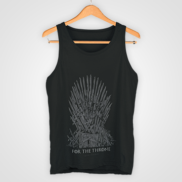 SALe - For The Thrones - Game Of Thrones - Tank Top