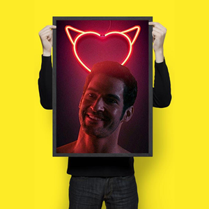 Lucifer - Netflix - Wall Hangings