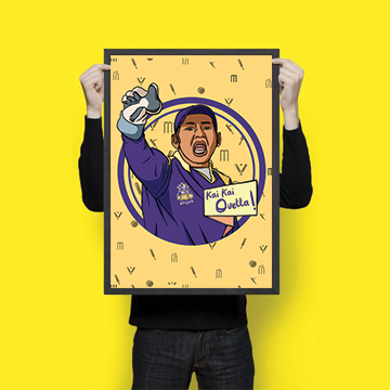 Sarfaraz Ahmed - Quetta Gladiators - PSL - Wall Hangings