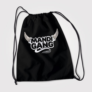 Mandi Gang - Bakra Eid - Drawstring Bag