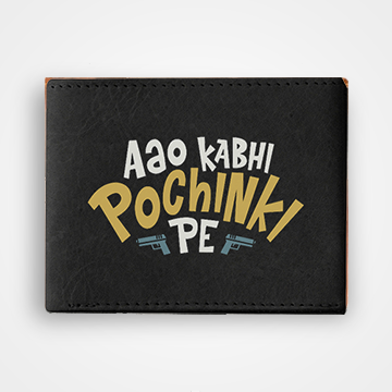 Aao Kabhi Pochinki Pe - PUBG - Graphic Printed Wallets