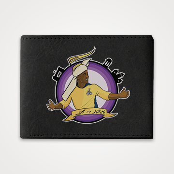 Darren Sammy - Peshawar Zalmi - PSL - Graphic Printed Wallets