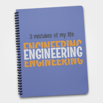 3 Mistakes Of My life Engineering - Notebook