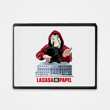 Lacasa De Papel - Money Heist - Graphic Printed Wallets