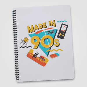 Made In The 90s   - Notebook