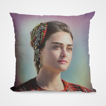 Halima Sultan - Ertugrul Ghazi - Cushion