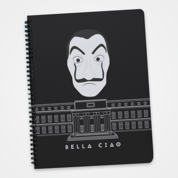 Bella Ciao - Money Heist -  Notebook