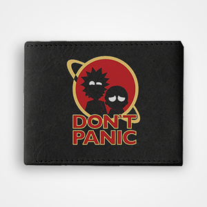 Dont Panic - Graphic Printed Wallets
