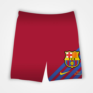 FCB Barcelona - All Over Printed Shorts
