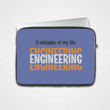 3 Mistakes Of My Life Engineering - Laptop & Tablet Sleeve