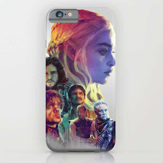 Game Of Thrones 01 Printed Cell Cover - Cell Cover