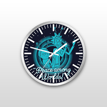 Peace Among The World - Wall Clock