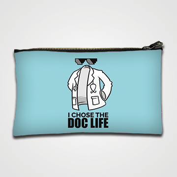 I Choose Doc Life - Zipper pouch
