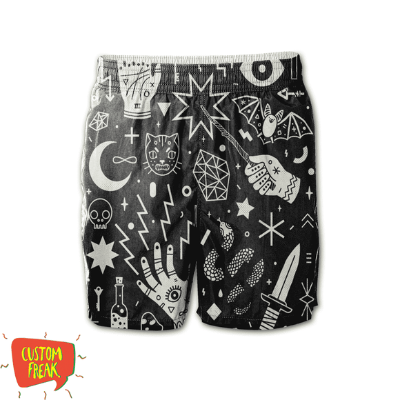 Witchcraft - Harry Potter - All Over Printed Shorts
