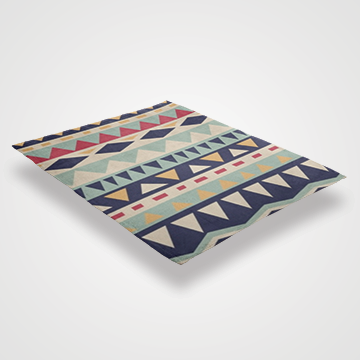 Abstract Pattern - Throw Blankets