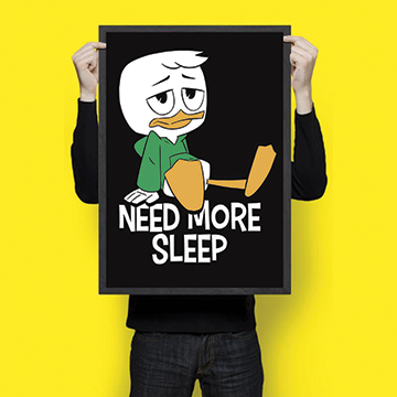 Need More Sleep - Wall Hangings