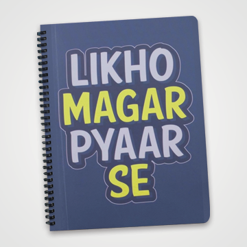 Likho Magar Pyaar Se  - Notebook