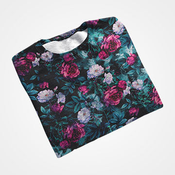 SALE - Floral - All Over Printed T-Shirts