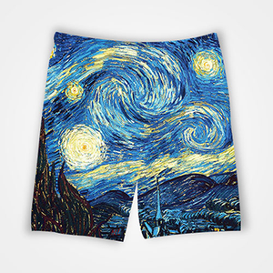 Van Gogh Painting - All Over Printed Shorts