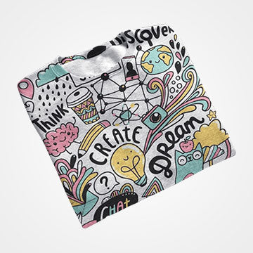 Doodle - All Over Printed T-Shirts