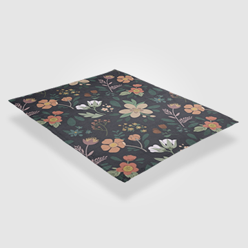 Floral - Throw Blankets