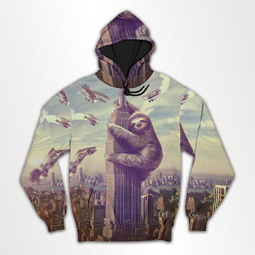 Empire State  - All Over Hoodie & Sweatshirt