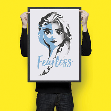 Fearless - Wall Hangings