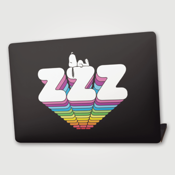 Sleepy - Laptop skin