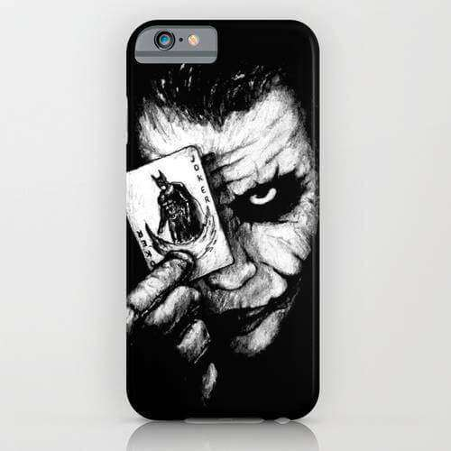 Joker Batman Printed Cell Cover - Cell Cover