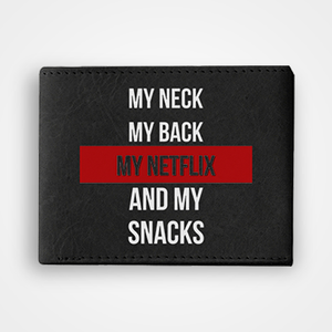My Netflix - Graphic Printed Wallets