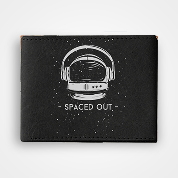 Space Out - Graphic Printed Wallets