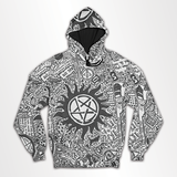 Supernatural - All Over Hoodie & Sweatshirt