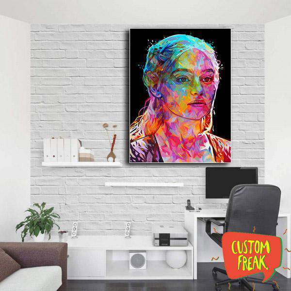 Khaleesi - Game Of Thrones - Wall Hangings