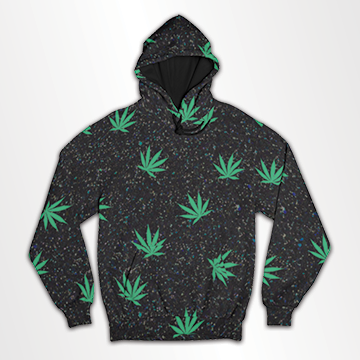 Weed - All Over Hoodie & Sweatshirt