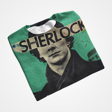 Sherlock - All Over Printed T-Shirts