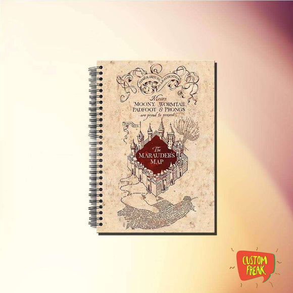 Notebook Harry Potter