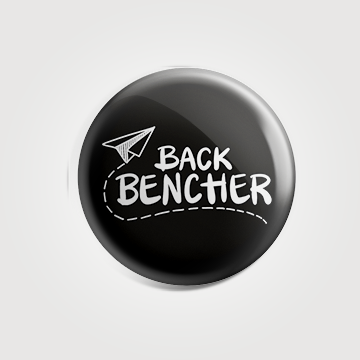 Back Benchers - Badge