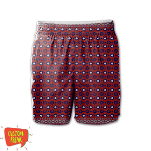 Ajrak - All Over Printed Shorts