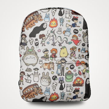 Spirited Away - Allover Printed Backpack