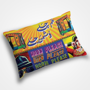 Rickshaw Art - Pillow Cover