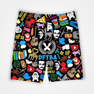 DFTBA Collage - All Over Printed Shorts
