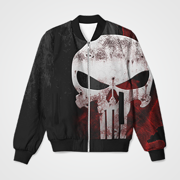 Punisher   - Bomber Jacket