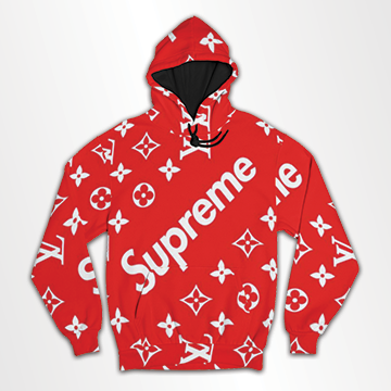 Supreme - All Over Hoodie & Sweatshirt
