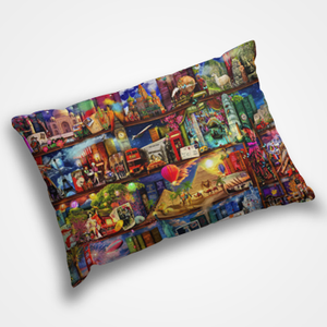 Traditional Collage - Pillow Cover