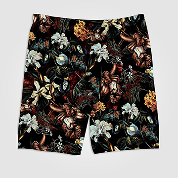Floral - All Over Printed Shorts