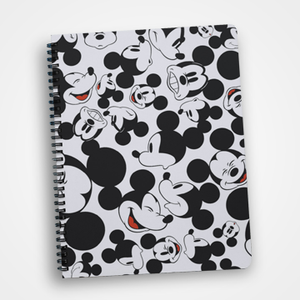 Mickey Mouse Collage - Notebook