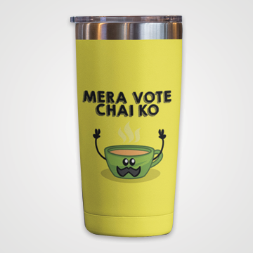Mera Vote Chai Ko - Travel Mug