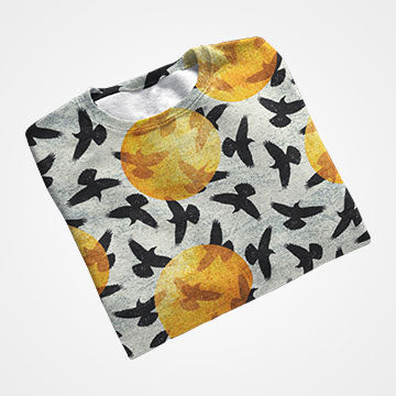 Birds - All Over Printed T-Shirts